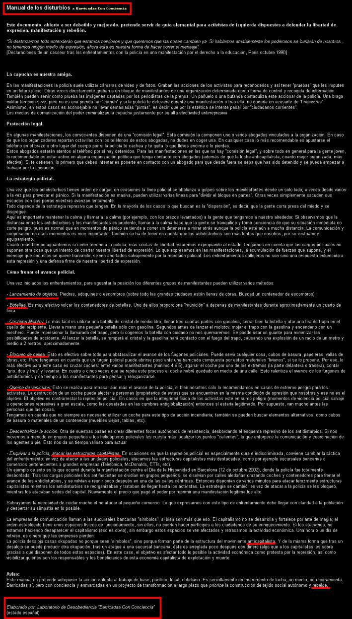 manual antidisturbios